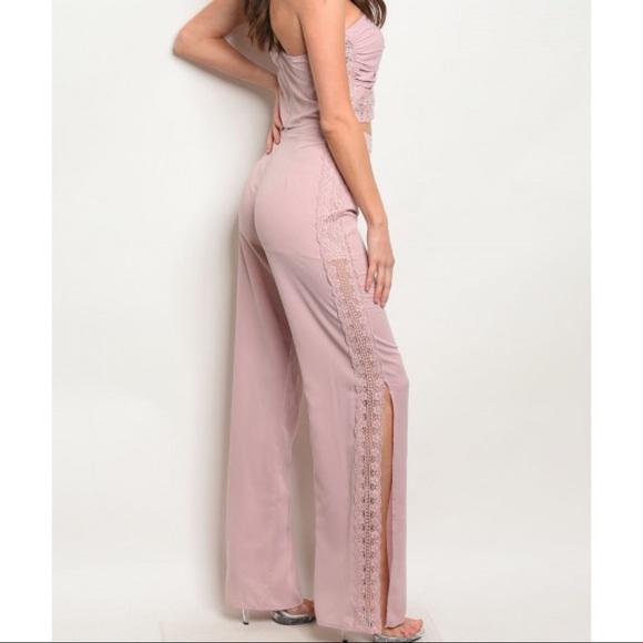 Lulumari Pants - ⭐️HP⭐️💃🏻Blush Bandeau Top Pants Set